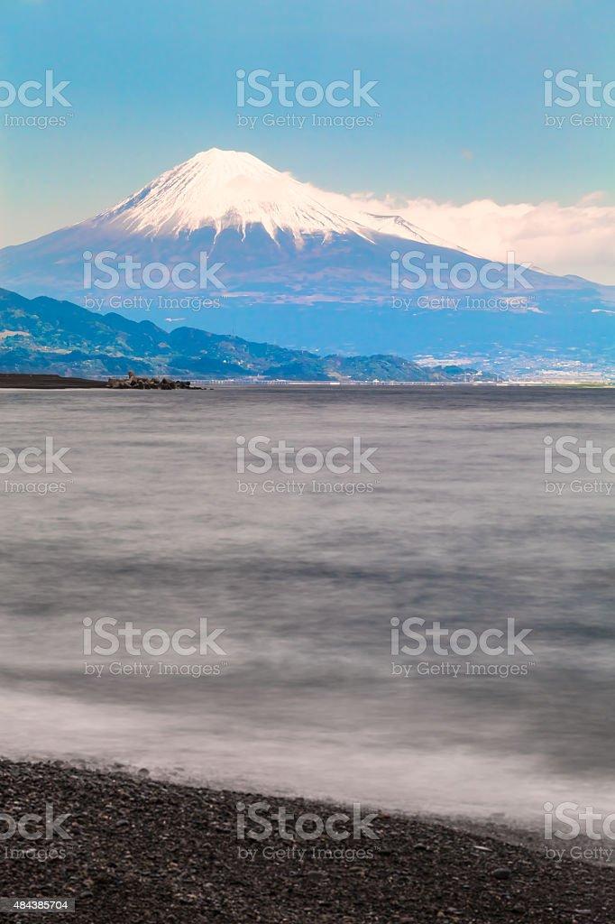 Fuji-San and Shizuoka Coast stock photo