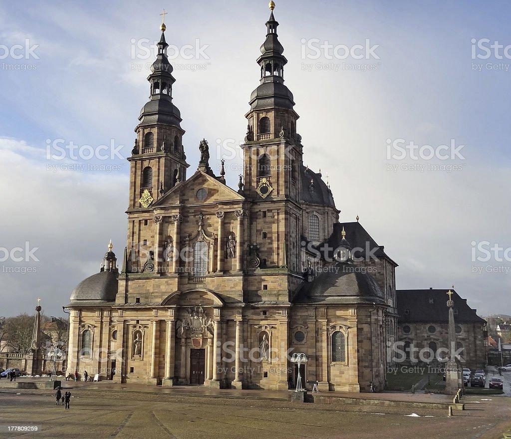 Fulda Cathedral royalty-free stock photo