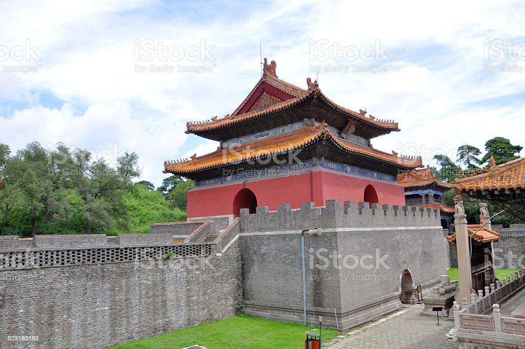 Fuling Tomb of Qing Dynasty, Shenyang, China stock photo