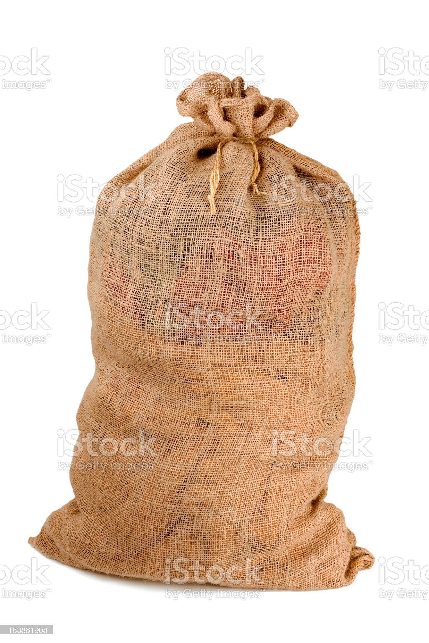 Full bag royalty-free stock photo