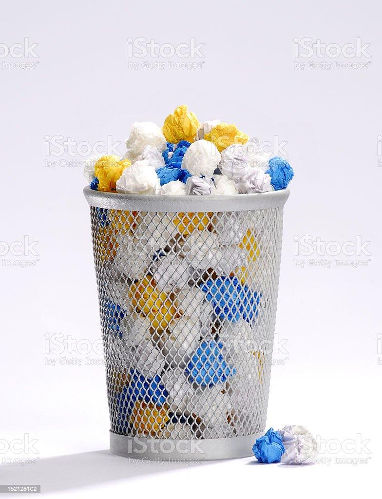 Full basket. stock photo