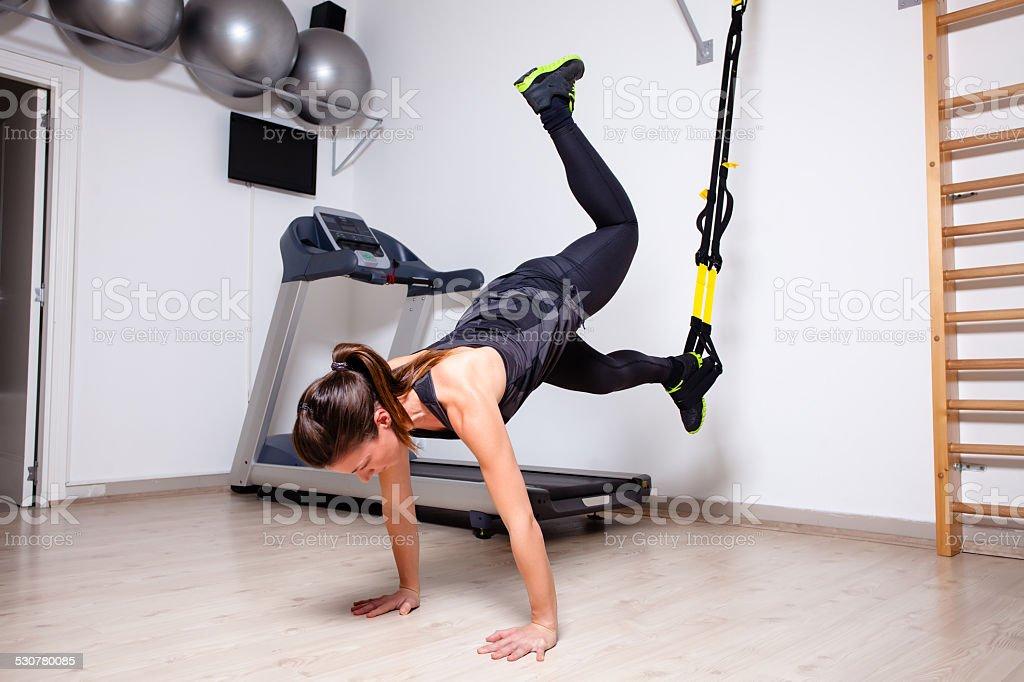 full body workout stock photo