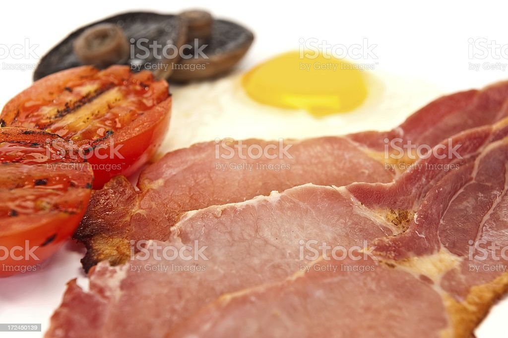 Full English Breakfast royalty-free stock photo