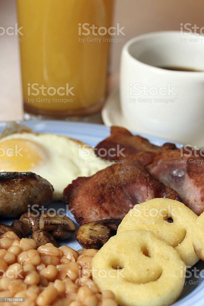 Full English Breakfast royalty-free stock photo