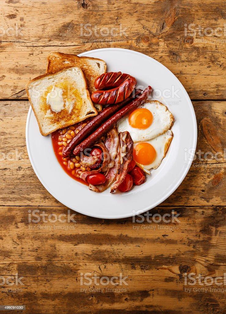 Reichhaltiges englisches Frühstück – Foto