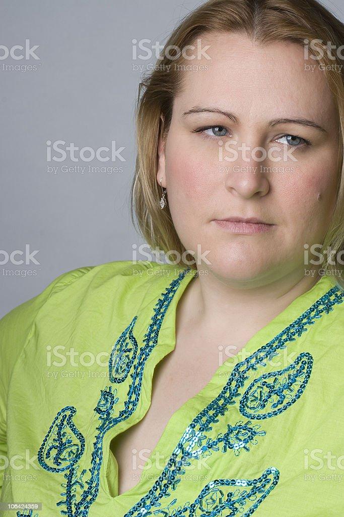 Full figure women stock photo