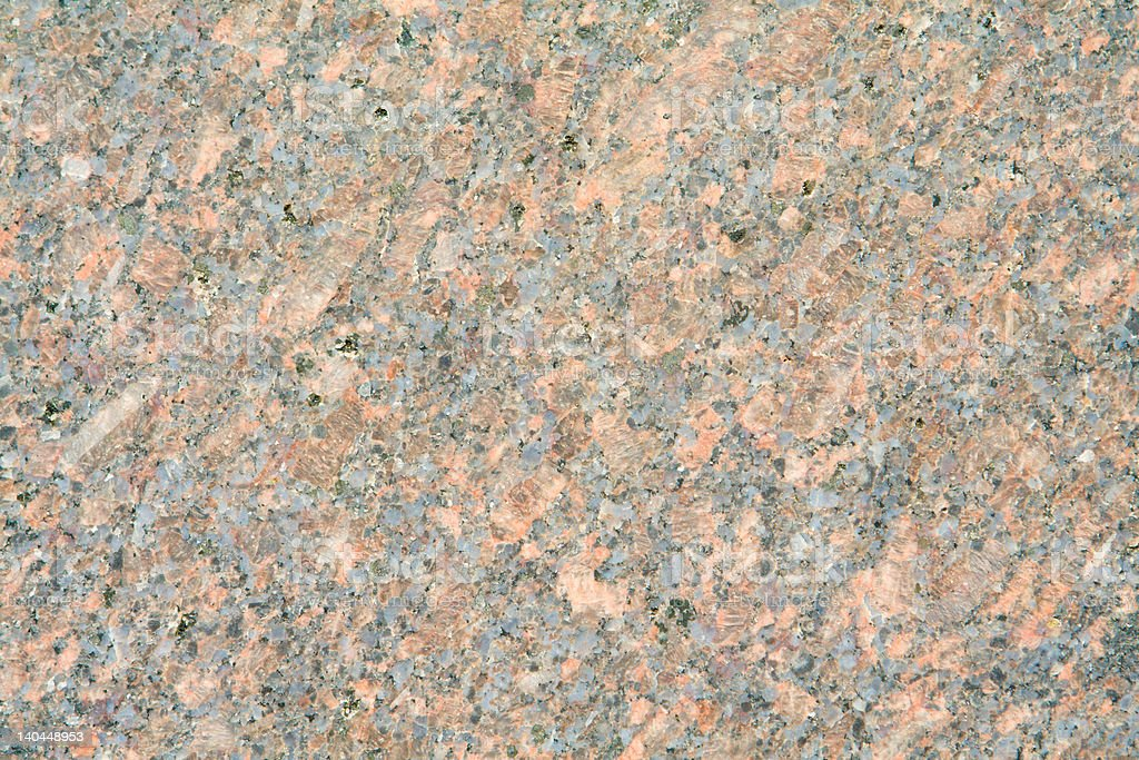 Full Frame Closeup Pink Granite With Black Specs royalty-free stock photo