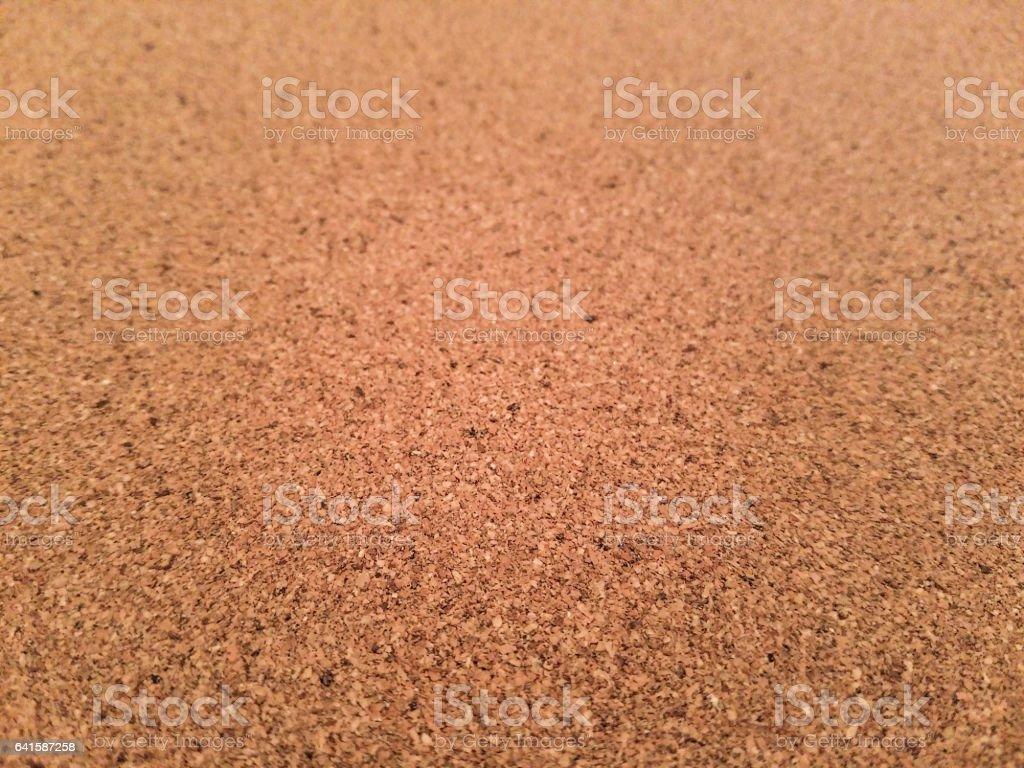Full frame cork background. stock photo