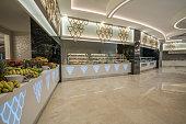 full frame  Luxury  hotel Buffet