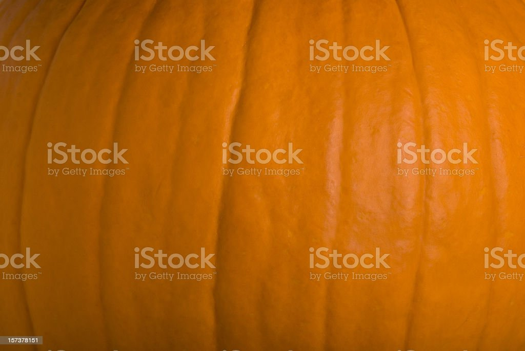 Full Frame - Side Of A Halloween Pumpkin royalty-free stock photo