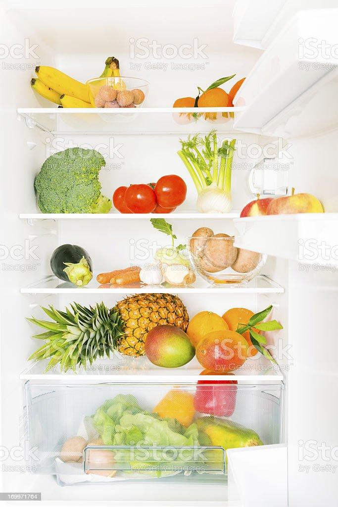 full fridge royalty-free stock photo