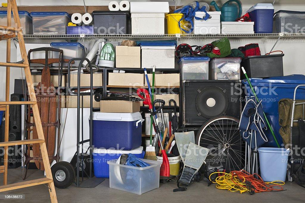 Full Garage stock photo