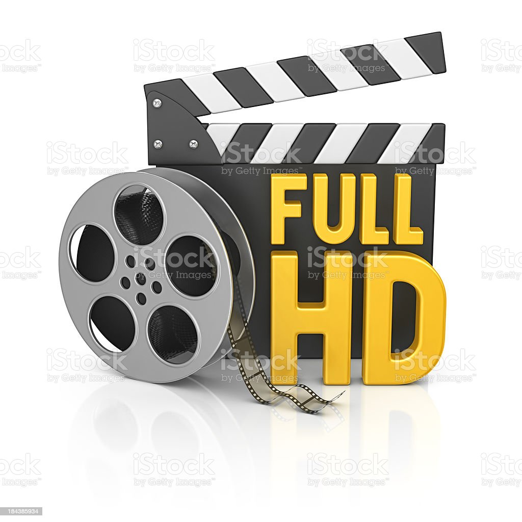 full hd film stuff royalty-free stock photo