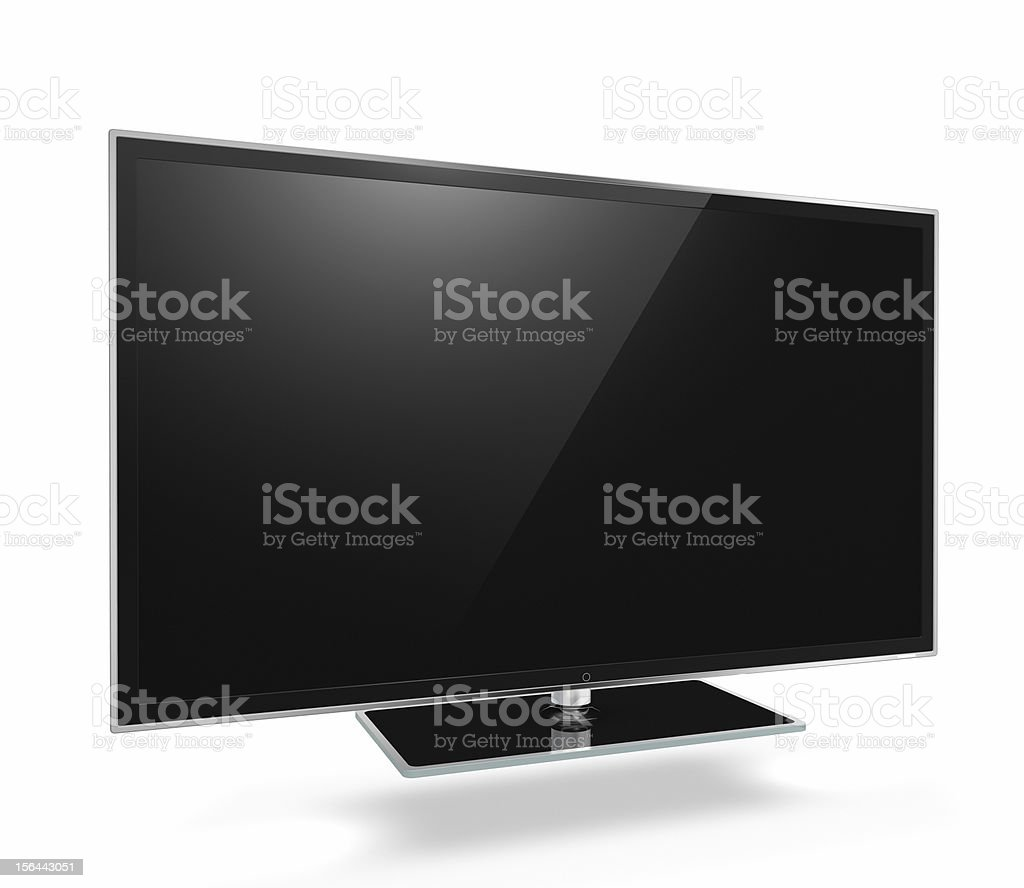 Full HD Led Television stock photo