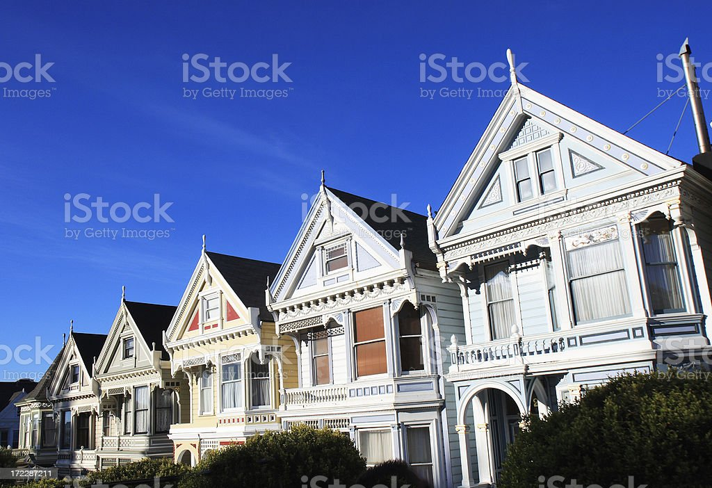 Full Houses 1 royalty-free stock photo