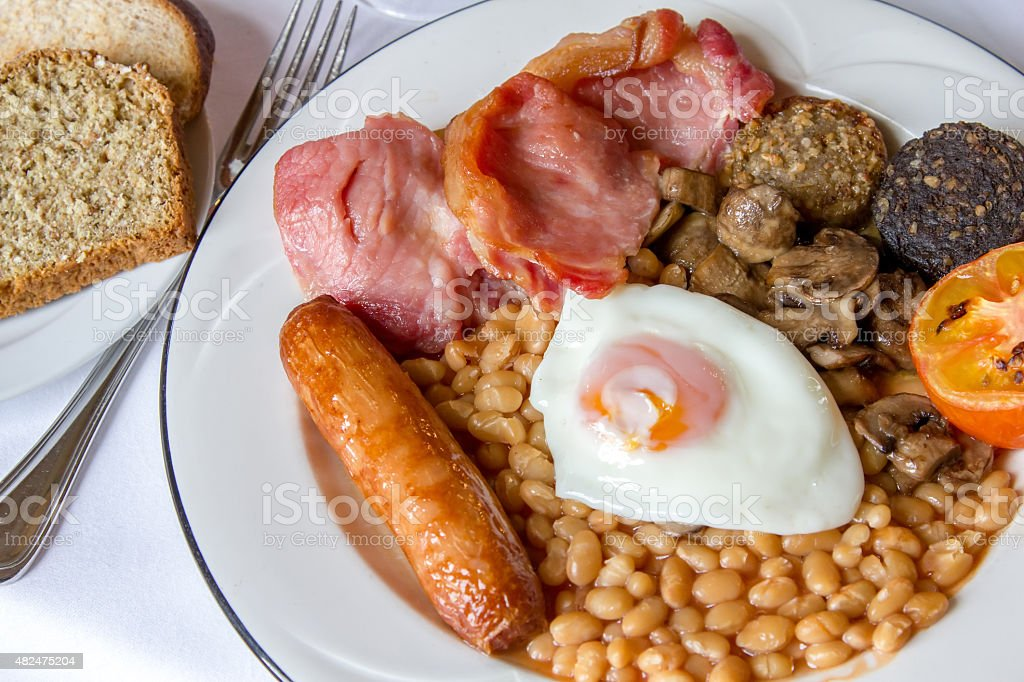 Full Irish breakfast stock photo