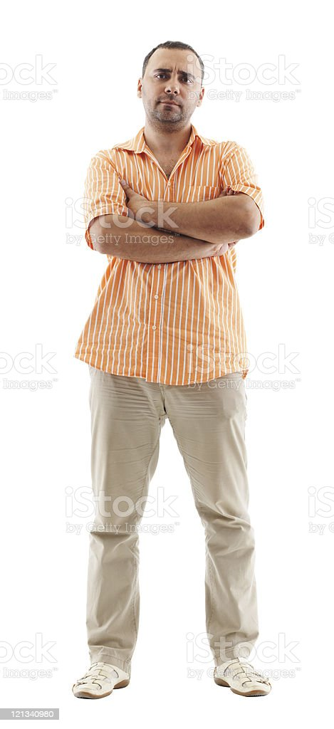 Full length image of a young man royalty-free stock photo