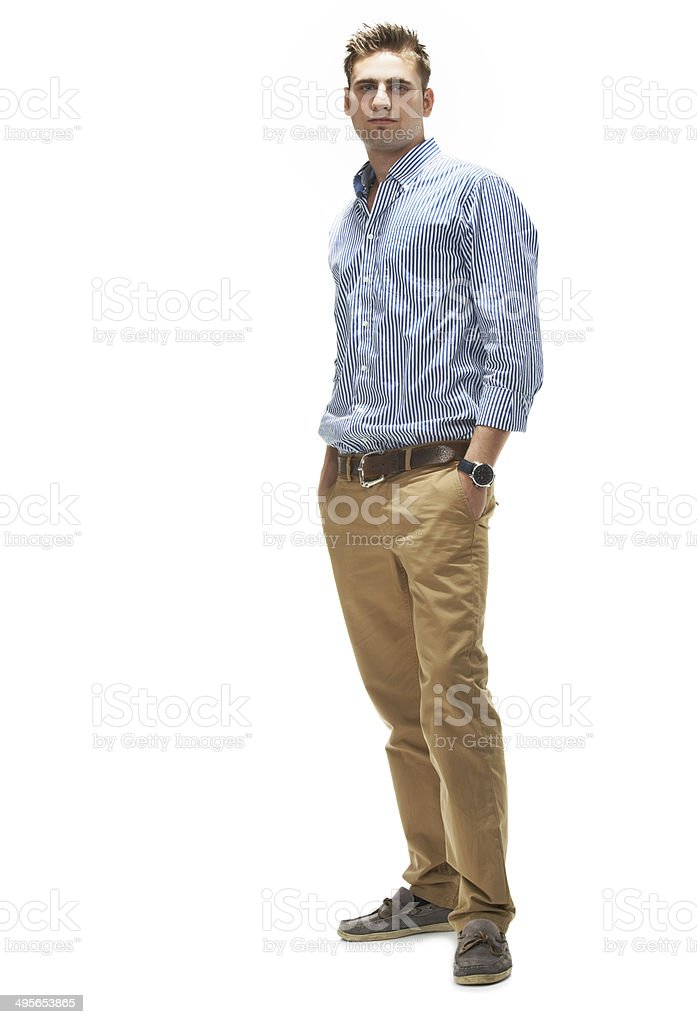 Cool, calm and collected royalty-free stock photo