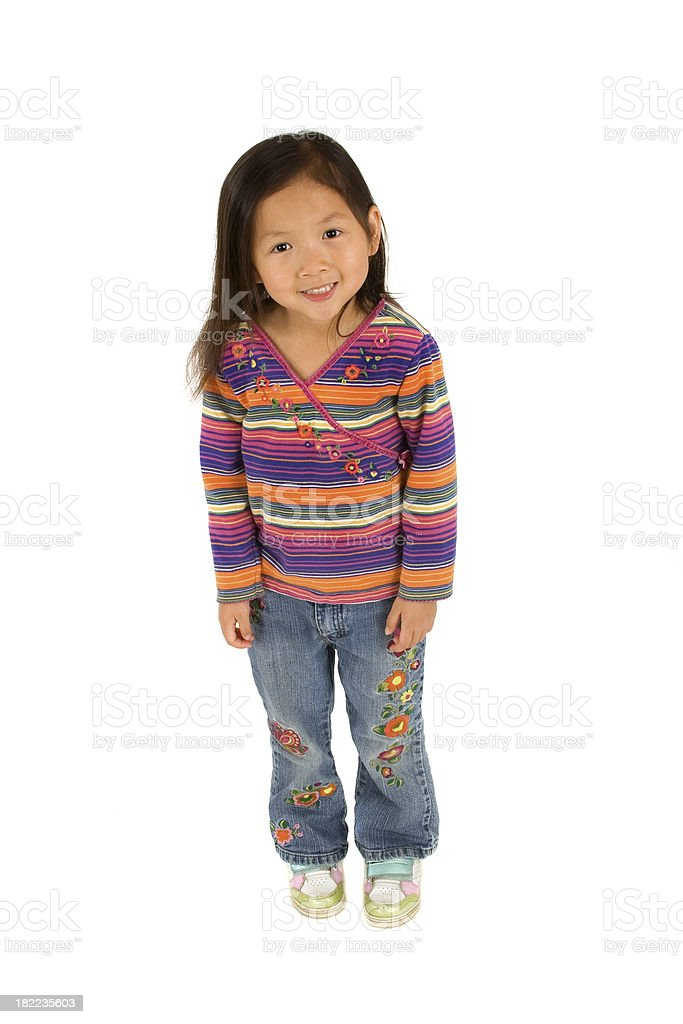 Full Length Shot of Preschooler royalty-free stock photo