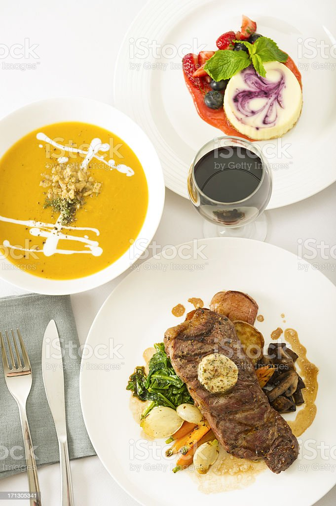 Full Meal royalty-free stock photo
