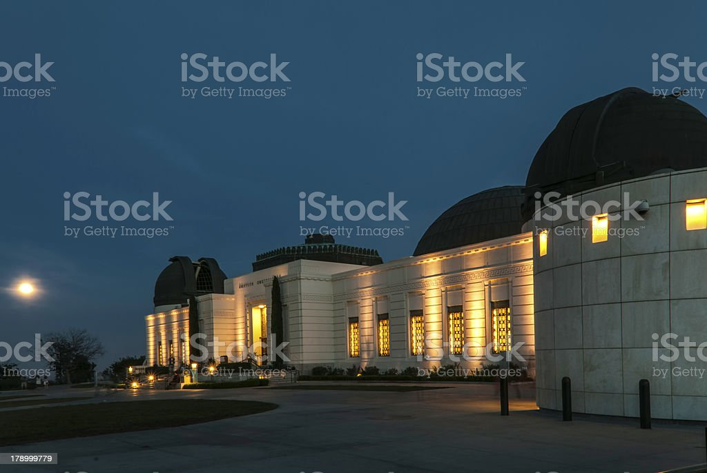 Full Moon at the Observatory royalty-free stock photo