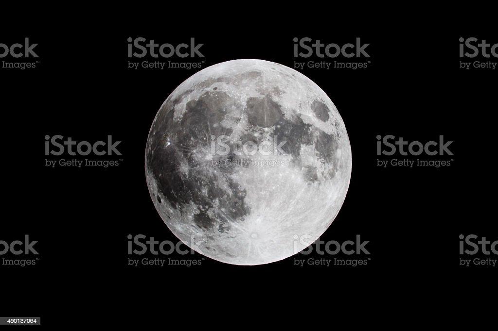 Full Moon Close Up stock photo