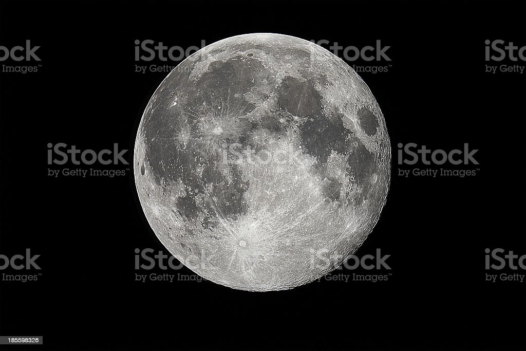 Full Moon in year 2013 royalty-free stock photo
