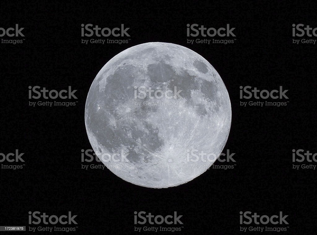 Full Moon royalty-free stock photo