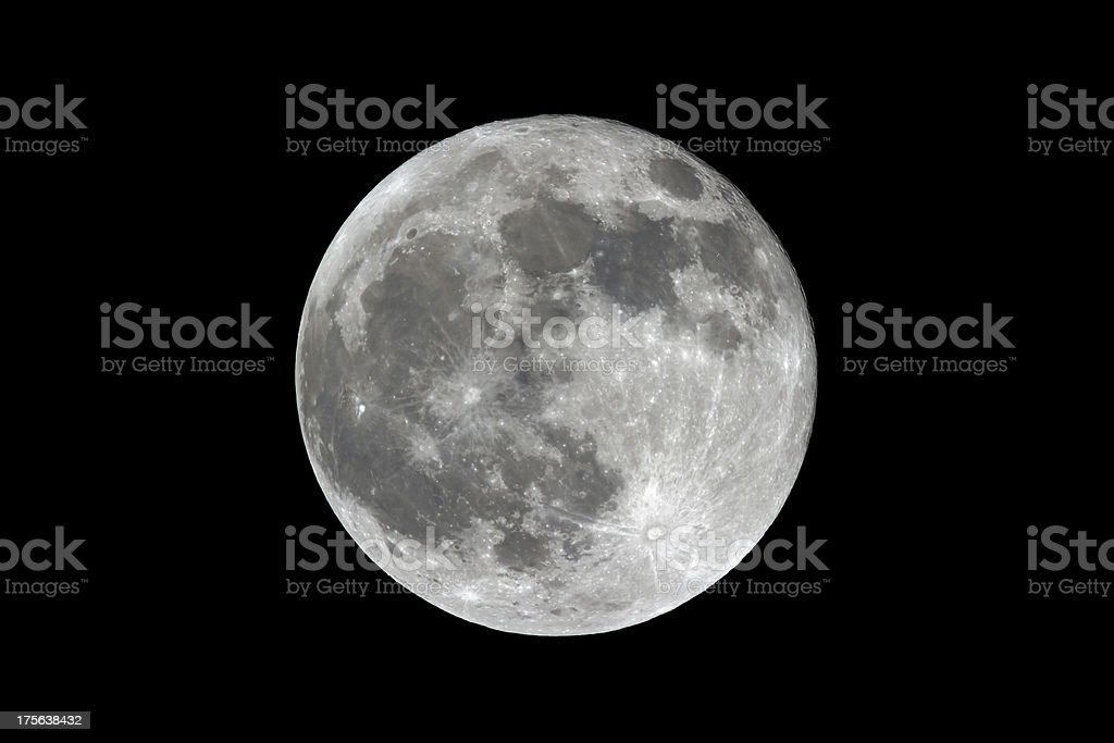Luna piena foto stock royalty-free
