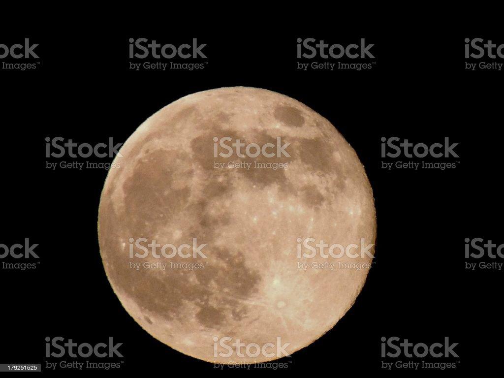 Pleine moon photo libre de droits