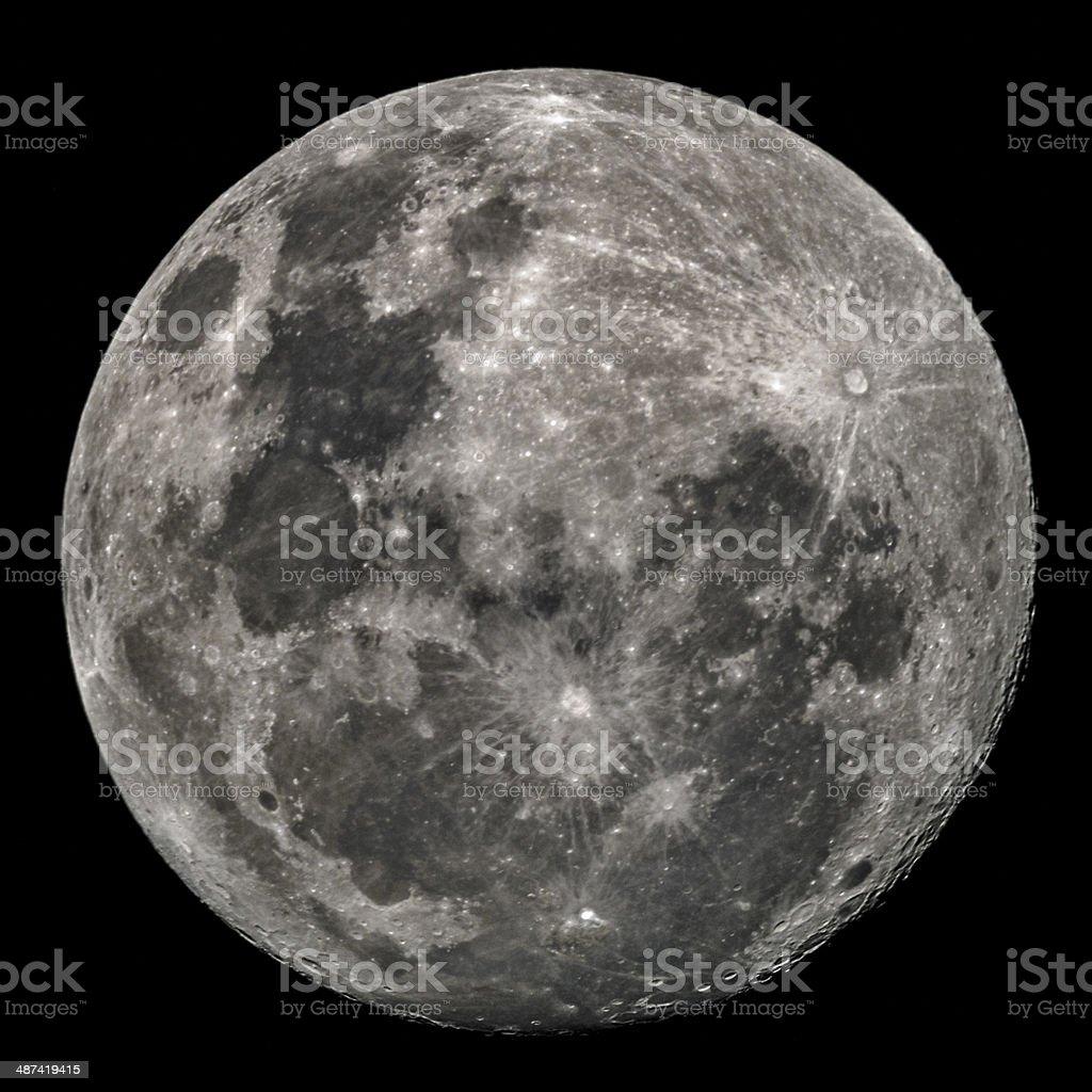 Full Moon stock photo