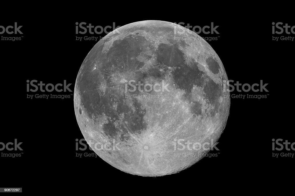 Full Moon royalty-free stock photo