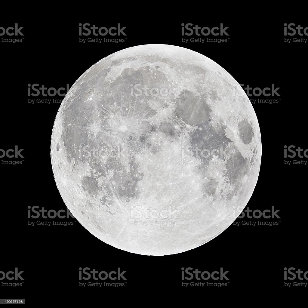 Full Moon - super moon stock photo