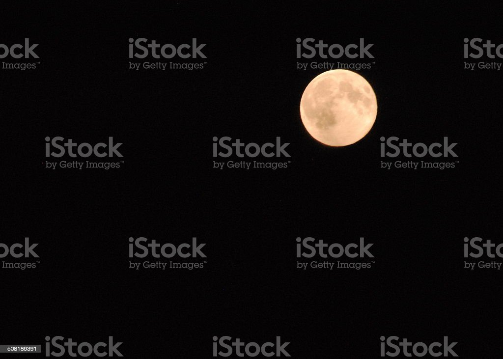 Full Moon, Super Moon stock photo