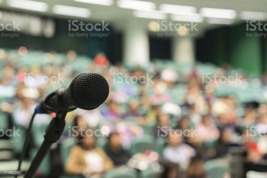 Full of Audience stock photo
