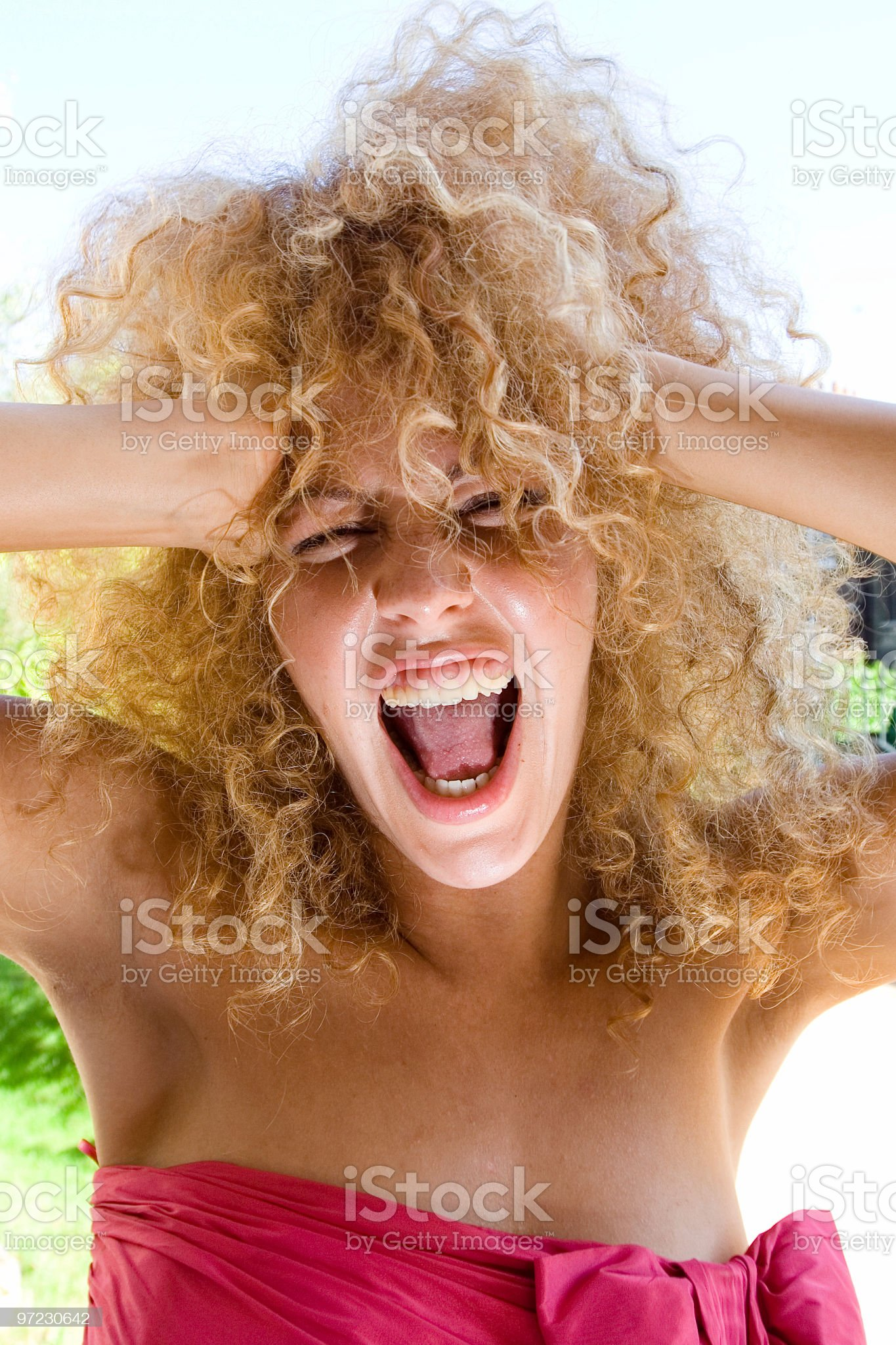 Full of energy royalty-free stock photo