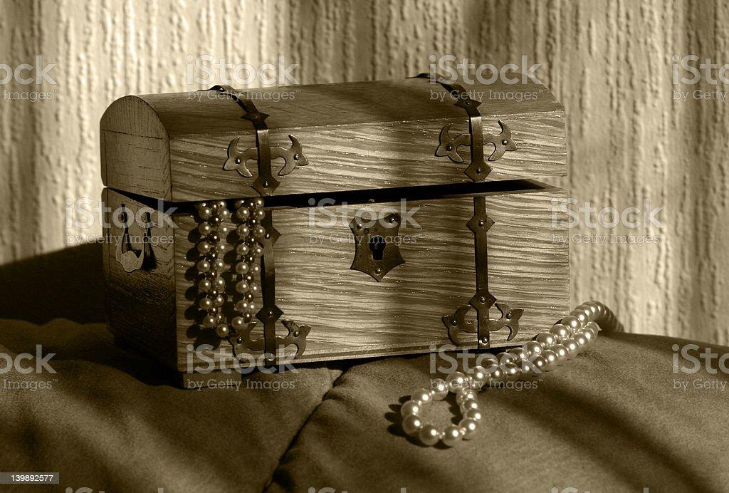Full of treasures royalty-free stock photo