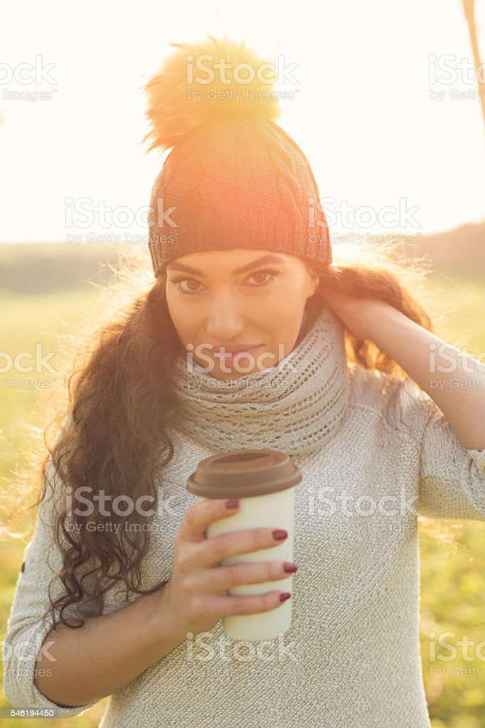 Full of warmth stock photo