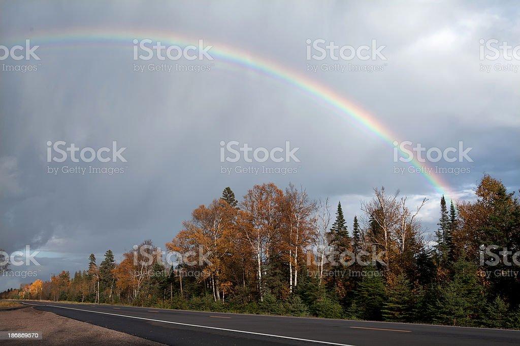 full rainbow royalty-free stock photo