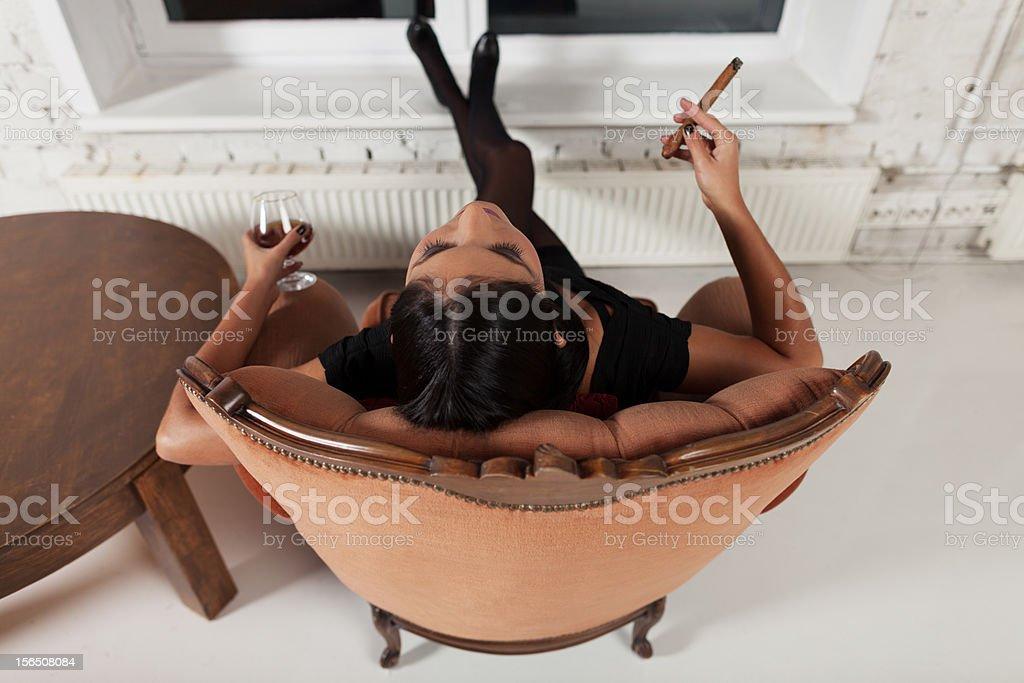 Full relax stock photo