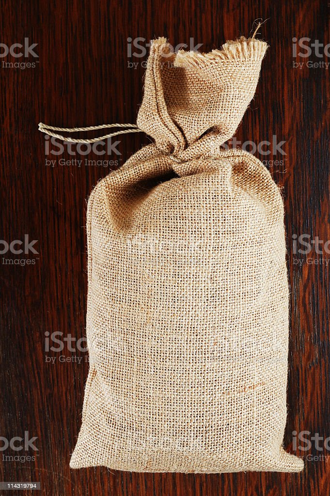 Full Sack on Oak royalty-free stock photo