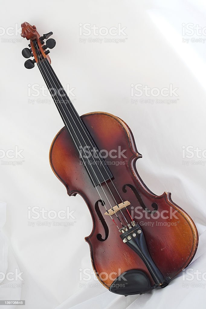 Full Size Violin royalty-free stock photo