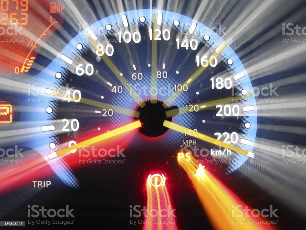 Full Speed Ahead stock photo
