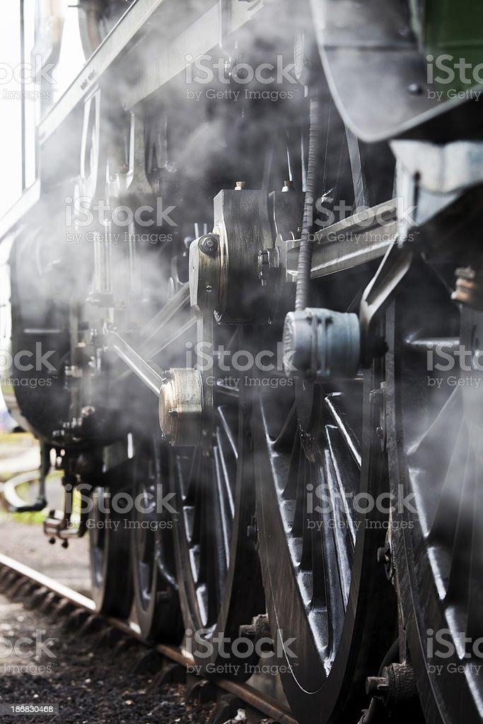 Full Steam Ahead royalty-free stock photo