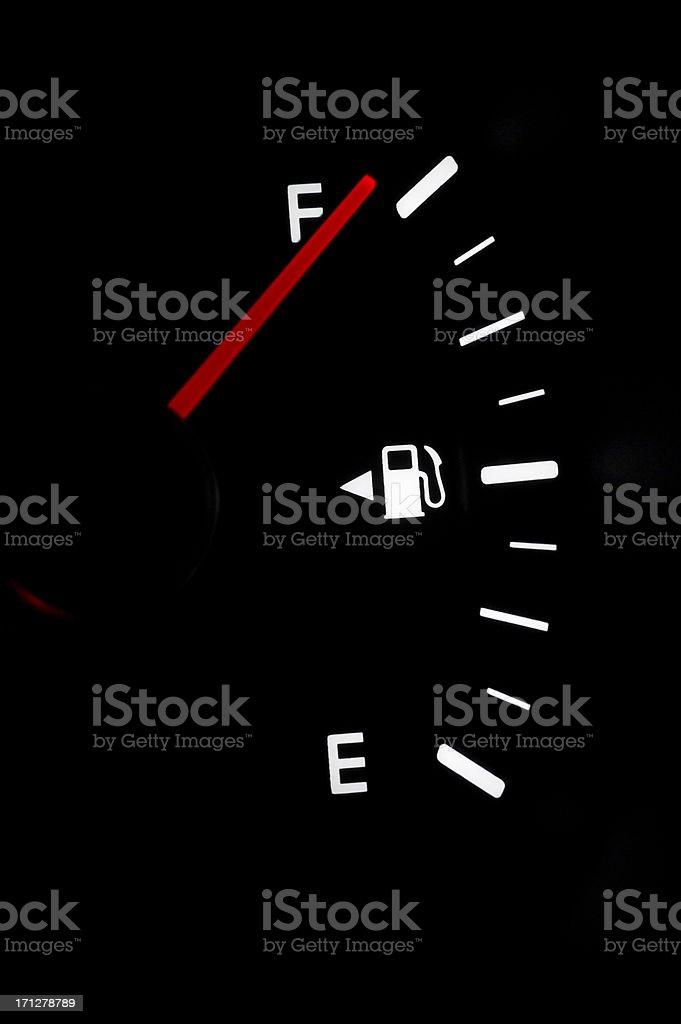 Full Tank of Fuel stock photo