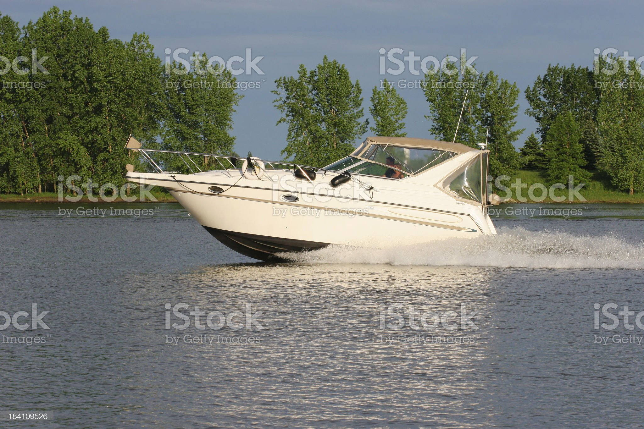 Full Throttle royalty-free stock photo