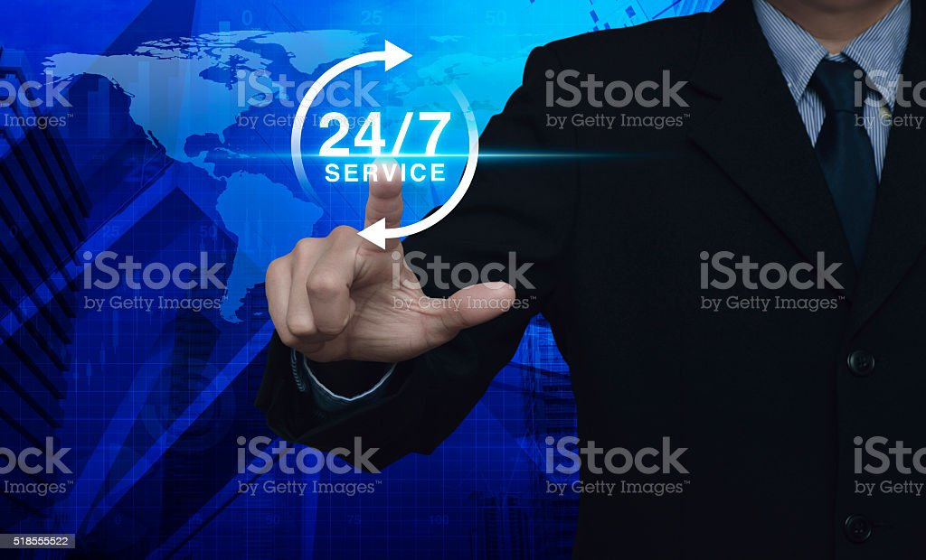 Full time service, Elements of this image furnished by NASA stock photo