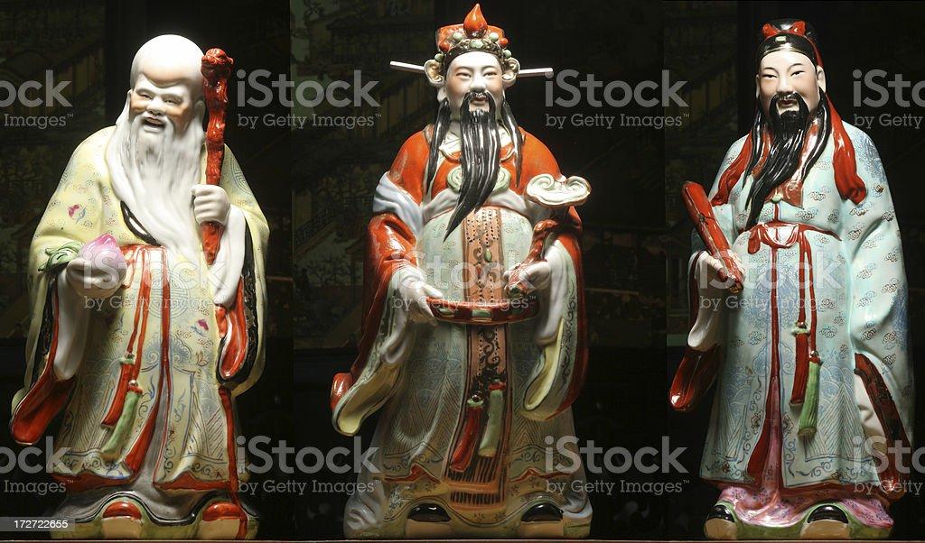 Fulushou royalty-free stock photo