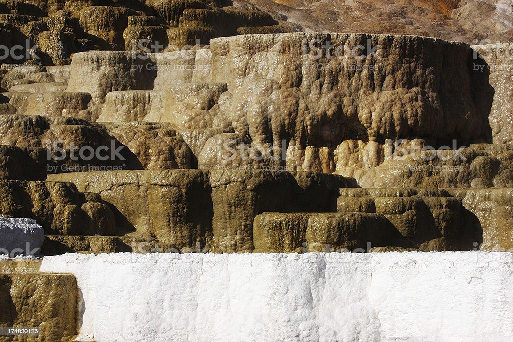Fumarole Mud Pot Yellowstone Volcano royalty-free stock photo