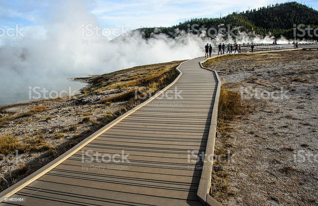 Fumaroles (Steam Vents) stock photo